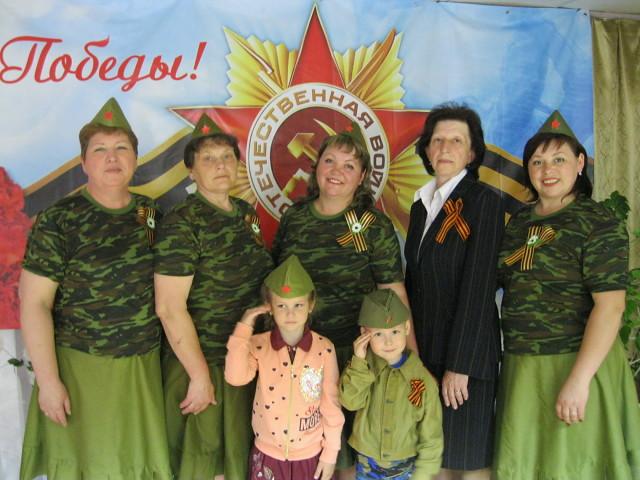 Празднование дня Победы в Сибирьковском СК