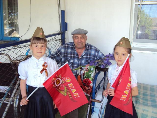 Празднование годовщины Победы в Донском СК