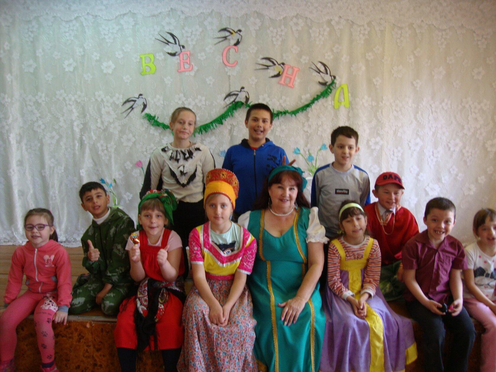 Фольклорный праздник «Весновка-свистунья»