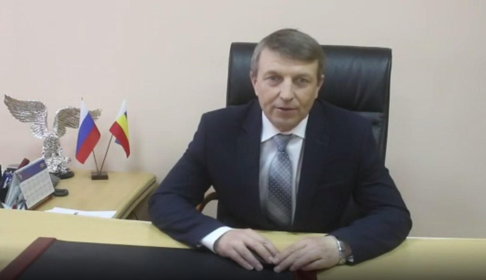 Обращение главы Администрации Волгодонского района к жителям в связи с распространением коронавирусной инфекции