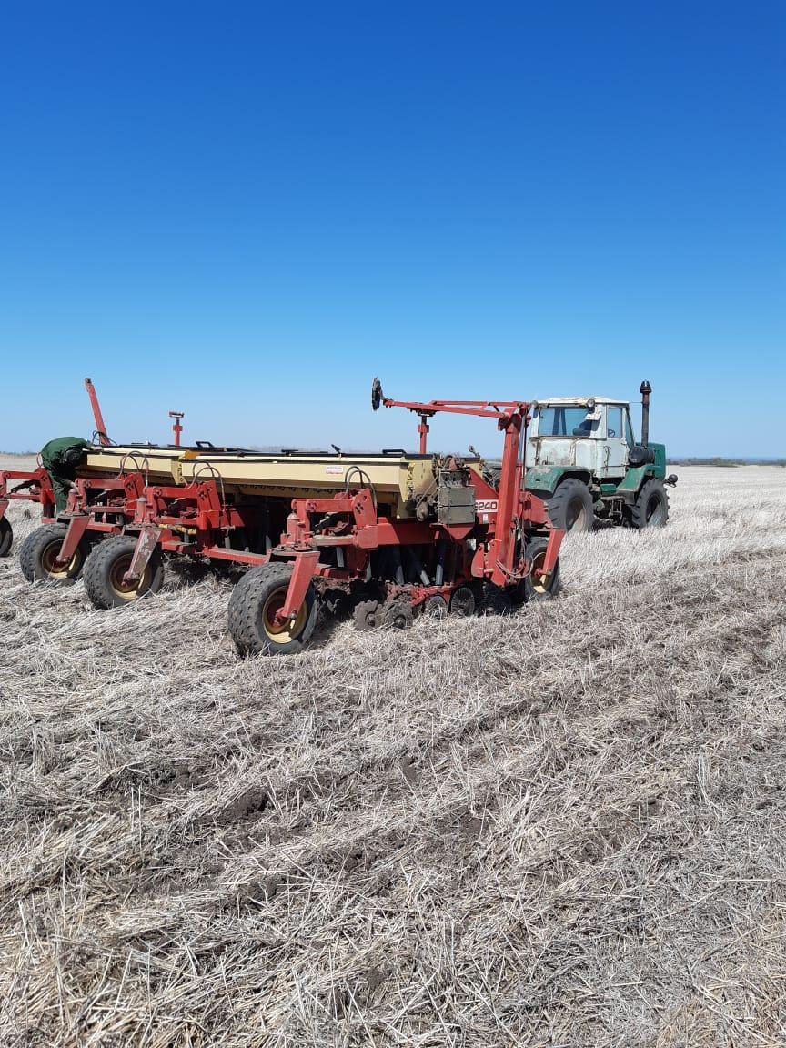 Весенние заботы земледельцев