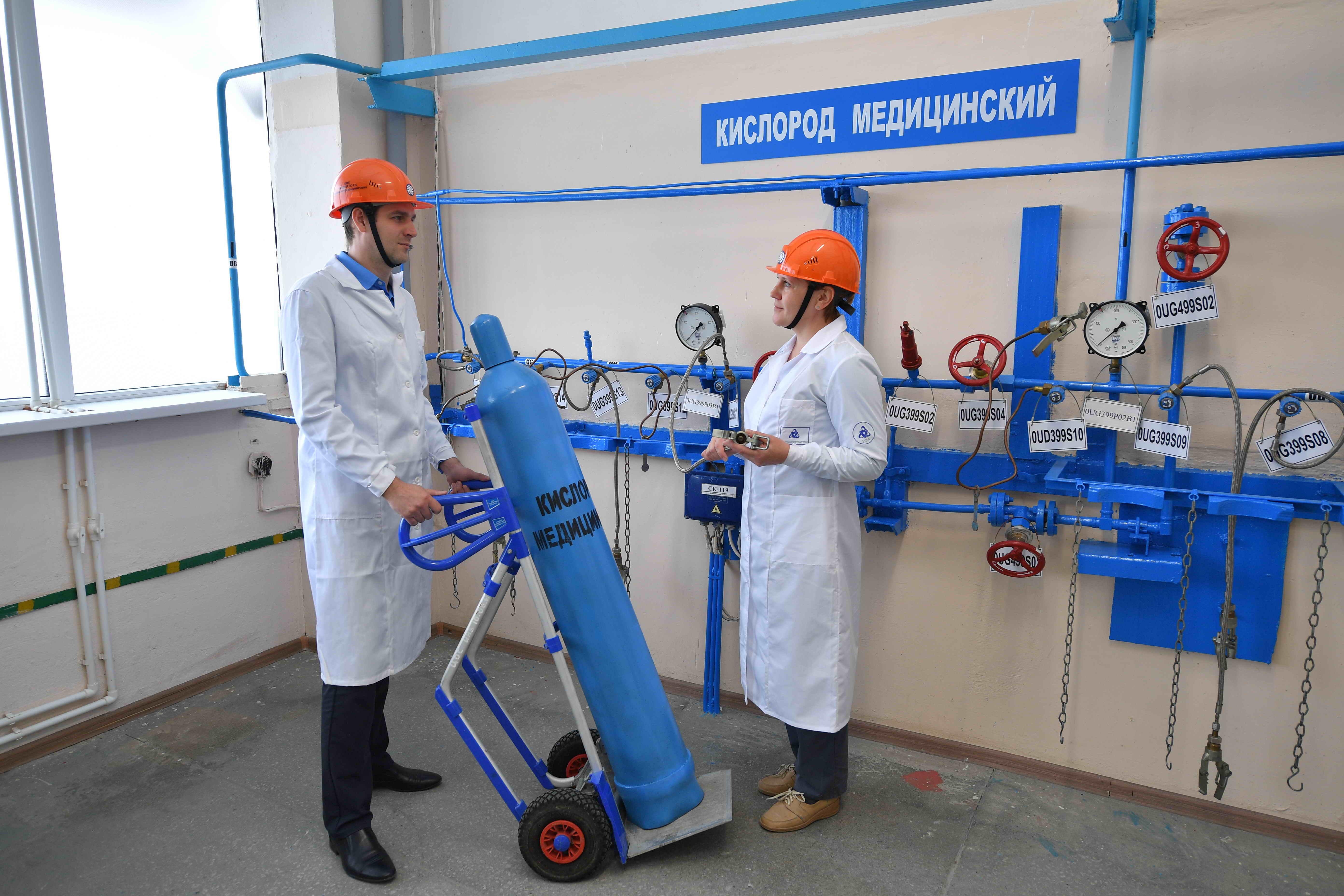 Ростовская АЭС готовится приступить к производству медицинского кислорода, необходимого для лечения больных