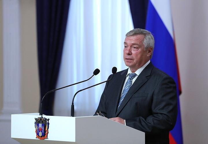 Поздравление губернатора Ростовской области В.Ю. Голубева с Днем России