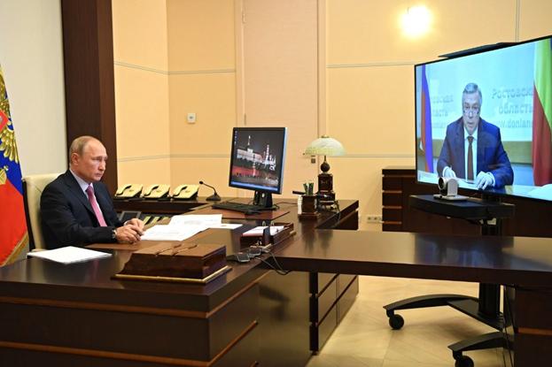 Владимир Путин поддержал выдвижение Василия Голубева на предстоящих выборах губернатора Ростовской области