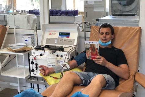 Донские волонтёры поддержали Всероссийский донорский марафон