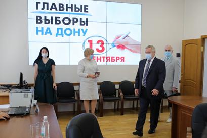 Василий Голубев подал в избирком документы на участие в выборах губернатора Ростовской области