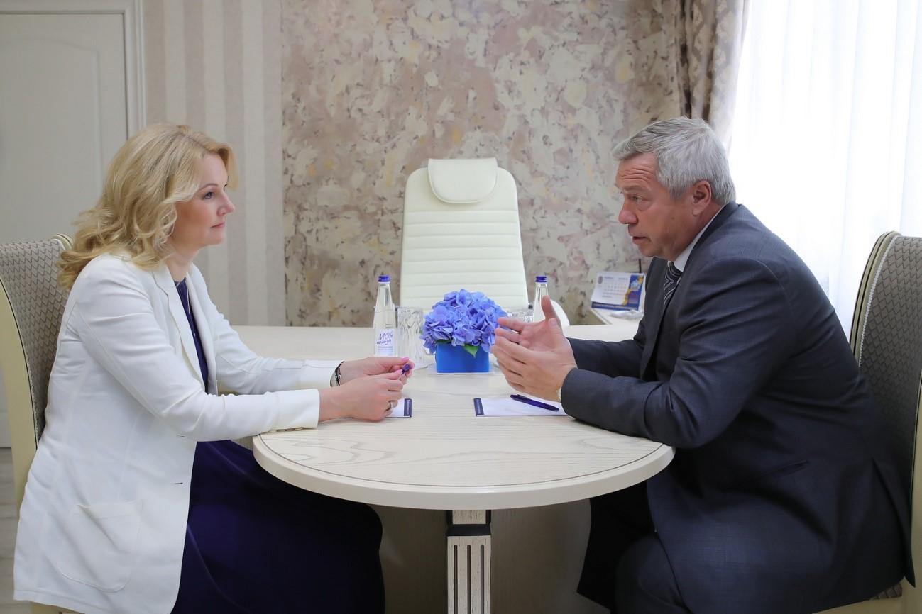 Федеральный центр поддержит строительство нового корпуса Ростовской областной детской больницы