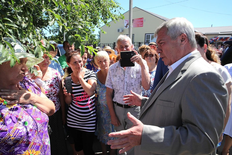 Василий Голубев: «Благодарю всех жителей моей любимой Ростовской области за доверие»