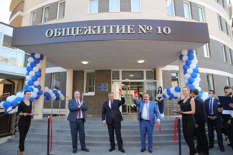 В ДГТУ открылось крупнейшее в регионе студенческое общежитие