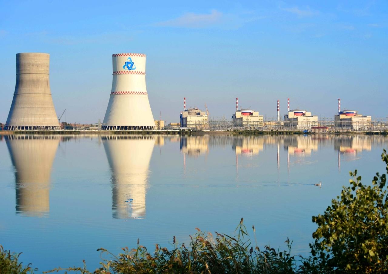 Ростовская АЭС выработала более 25 млрд кВт.ч электроэнергии
