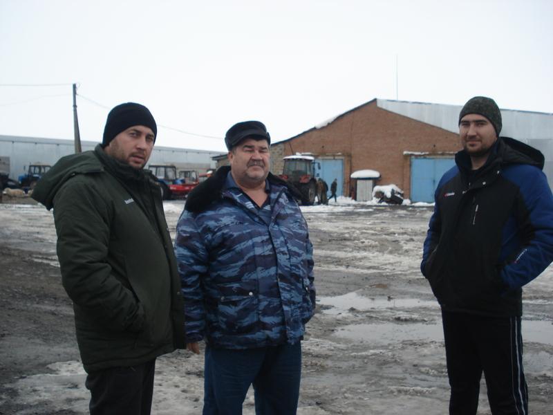 Евгений Владимирович Рыжкин развивает КФХ — помогает станице Дубенцовской