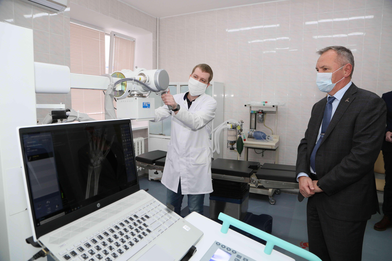 В больнице скорой медицинской помощи Волгодонска завершён первый этап проекта «Бережливый стационар»