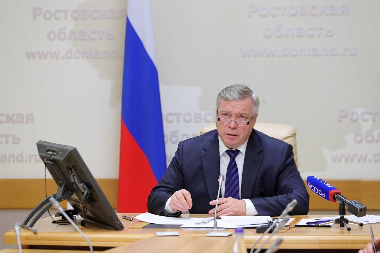 Губернатор Василий Голубев провел приём граждан