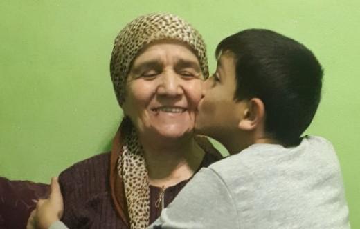 Фото для конкурса «Мамина улыбка» от Сафаровой Хадисы