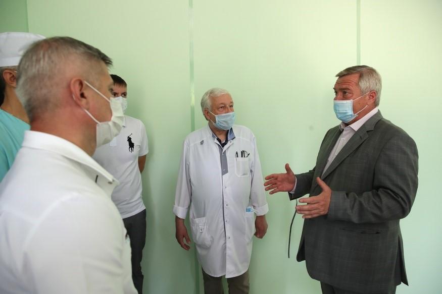 На Дону почти вдвое увеличены ассигнования на выплаты медикам, работающим на шахтерских территориях