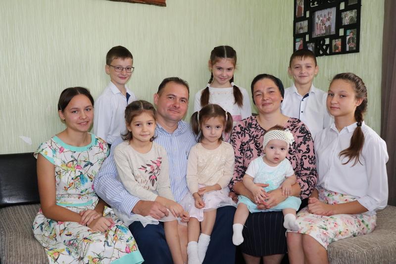 К Дню матери: Мария — мать 9 детей из Романовской говорит о своей семье
