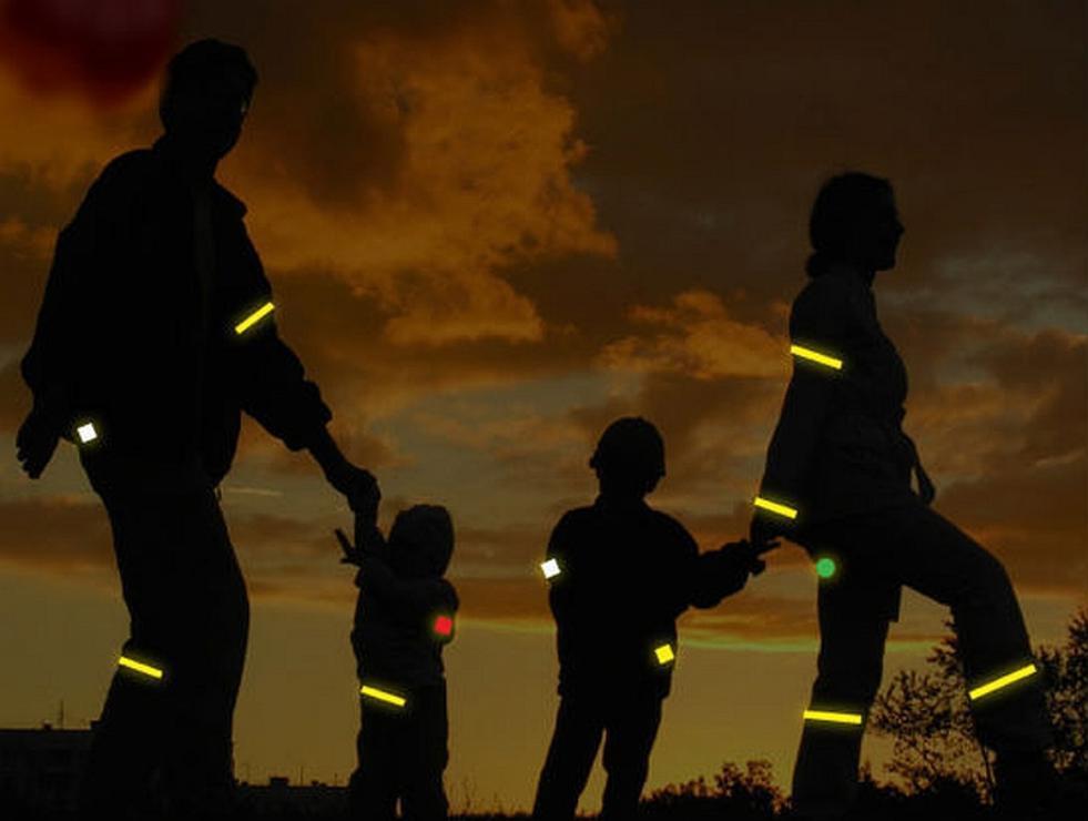 Госавтоинспекция напоминает гражданам о необходимости использования световозвращающих элементов