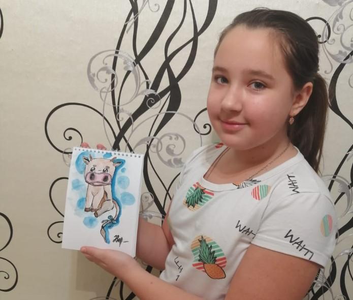 Холостова Виктория с дочерью Анастасией становятся участниками конкурса «Я и символ 2021 года»