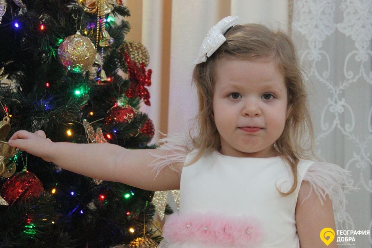 Чтобы помочь маленькой ростовчанке Фонд «География Добра» запустил всероссийскую благотворительную акцию