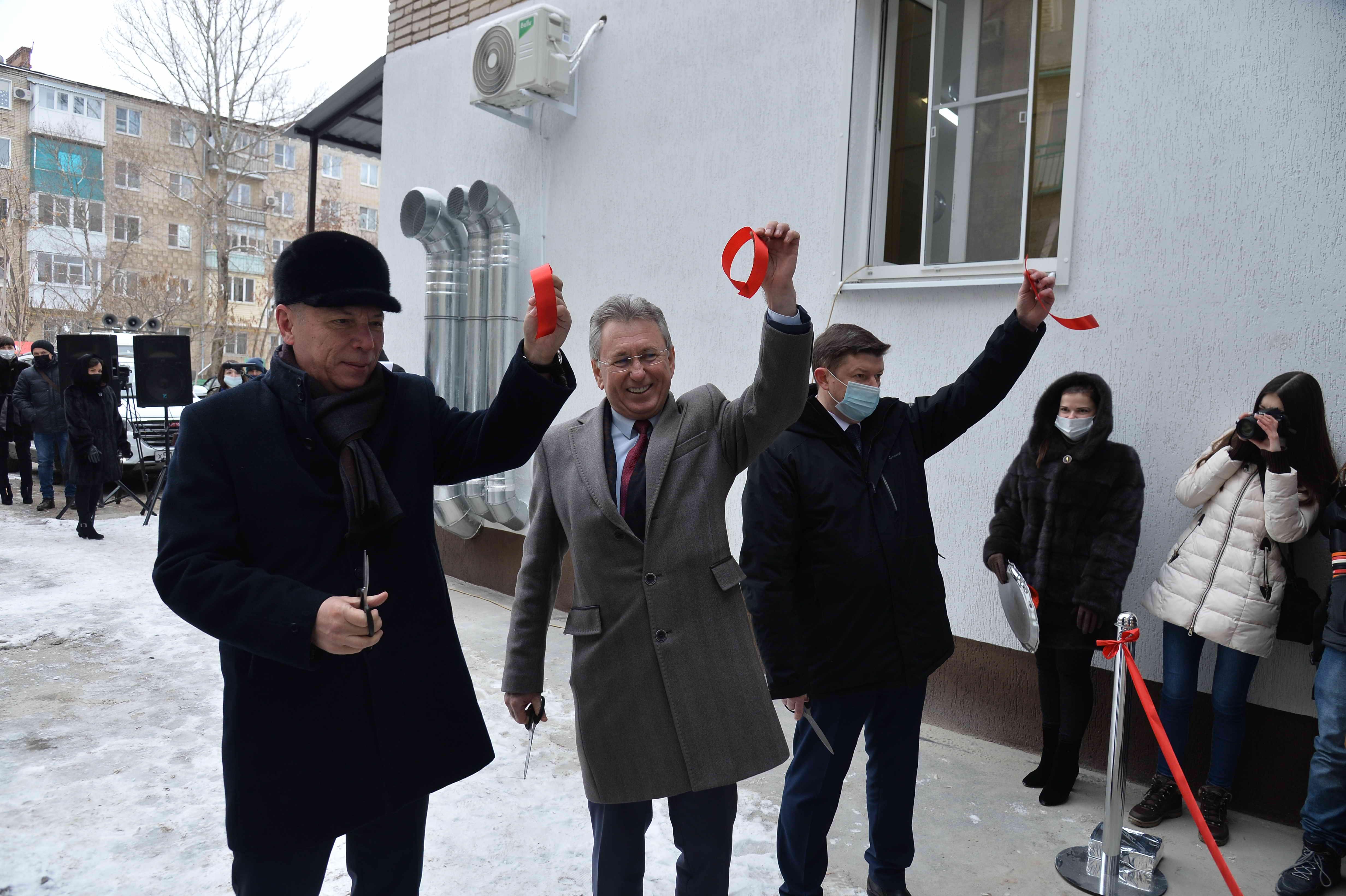 Ростовская АЭС: В Волгодонске открыта новая ПЦР-лаборатория для диагностики коронавирусной инфекции