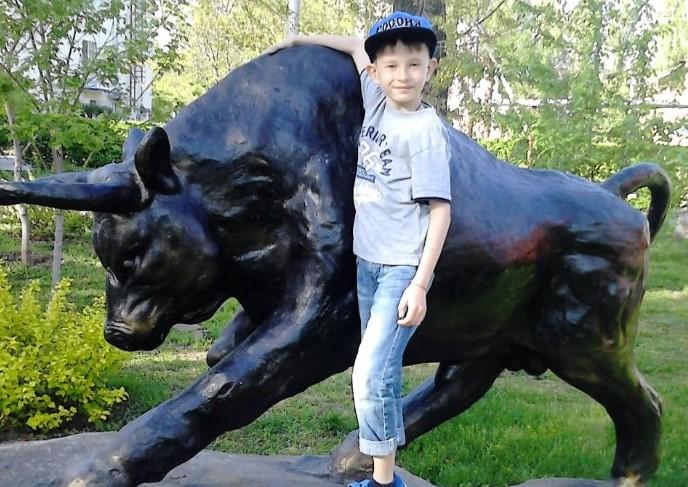 Олег Тюрин-Козинец — юный участник конкурса «Я и символ 2021 года»