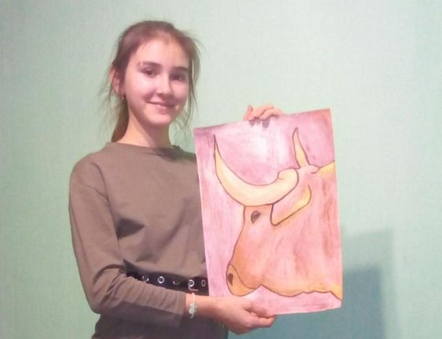 Рады приветствовать Ольгу — участницу конкурса «Я и символ 2021 года»
