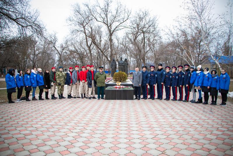 В Волгодонском районе прошли памятные мероприятия, посвященные Дню неизвестного солдата