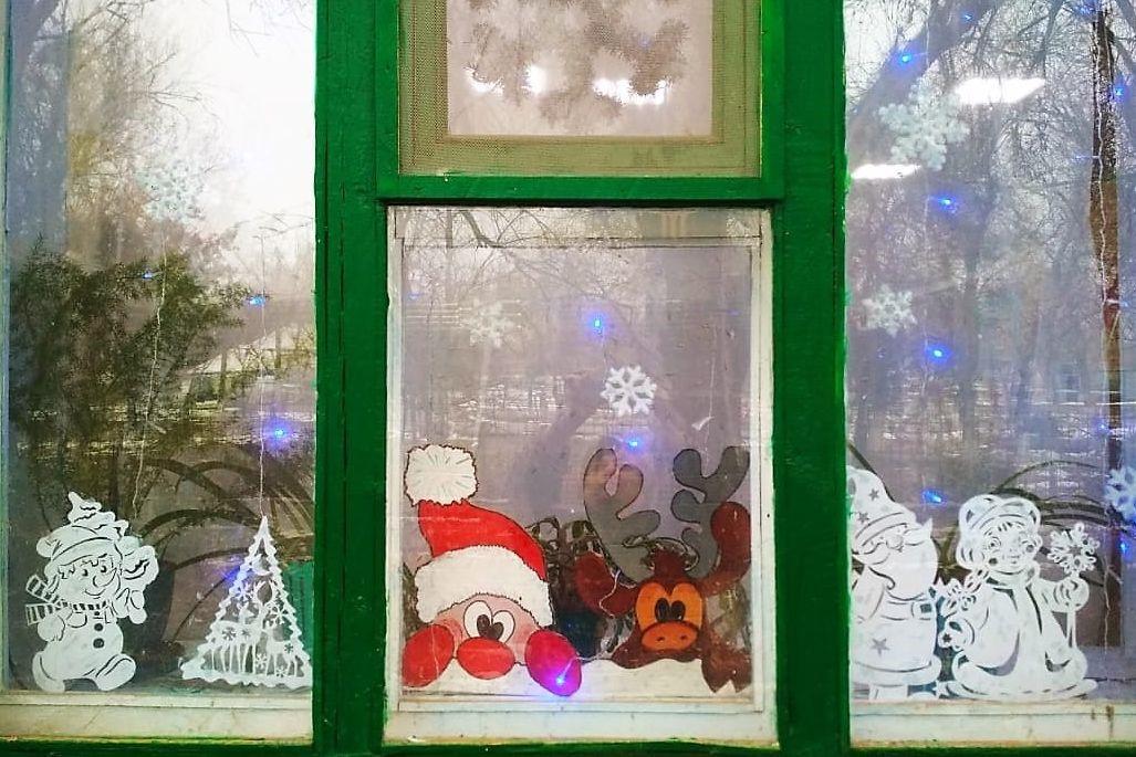 В Ростовской области появляются первые #НовогодниеОкна