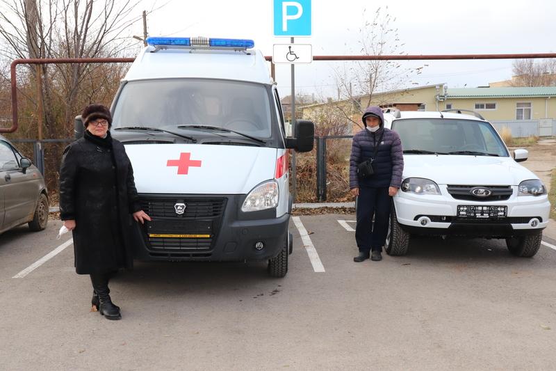 Автопарк ЦРБ Волгодонского района пополнился двумя автомобилями