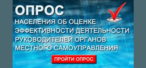 Жителей Волгодонского района просят пройти опрос на сайта Администрации
