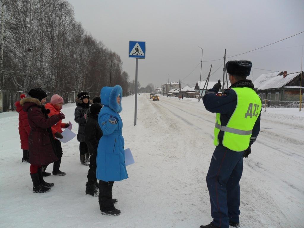 В Волгодонском районе проходит профилактическое мероприятие «Зимняя безопасная дорога»