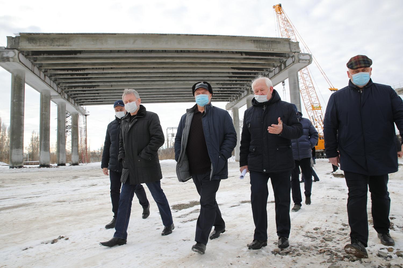 Строительство мостового перехода в Волгодонске идёт с опережением графика