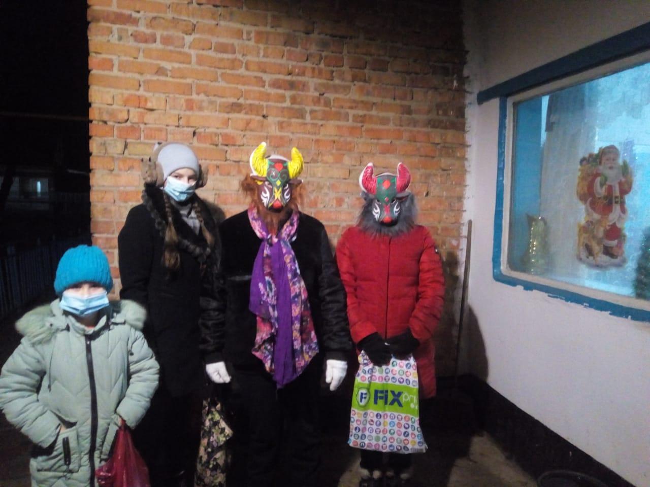 Работники Донского СК устроили колядки на Старый Новый год