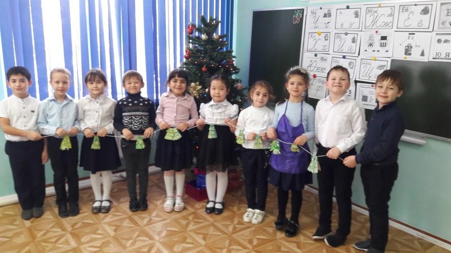 Новогодний квест — «Подарок от Дедушки Мороза» состоялся в Побединской школе