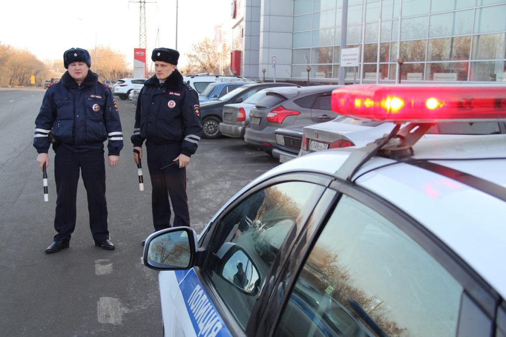 В праздничные дни ГИБДД усилит контроль за водителями