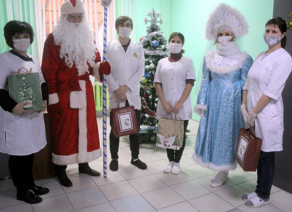 В канун Нового года в Волгодонском районе состоялась Общероссийская акция «Новый год в каждый дом»