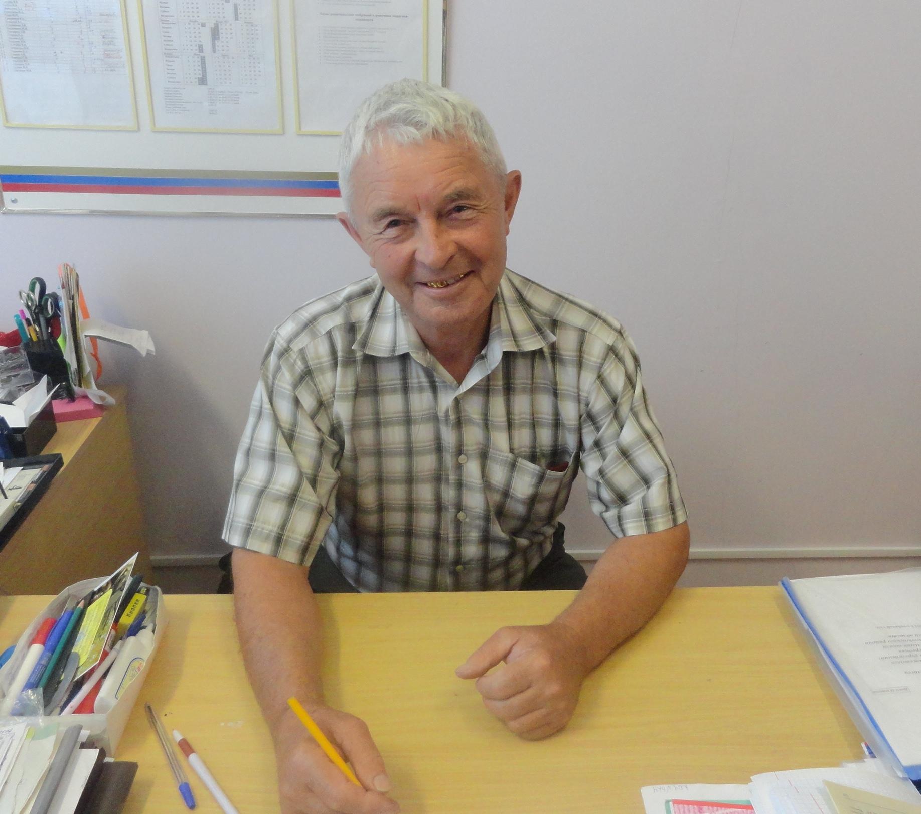 Поздравляем Коржова Владимира Дмитриевича с 75-летним юбилеем