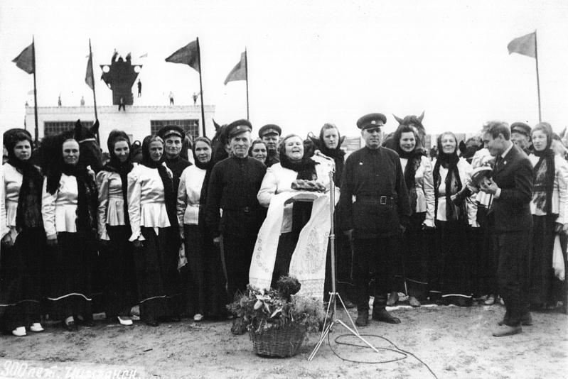 Хористы Романовского ДК везде были желанными гостями