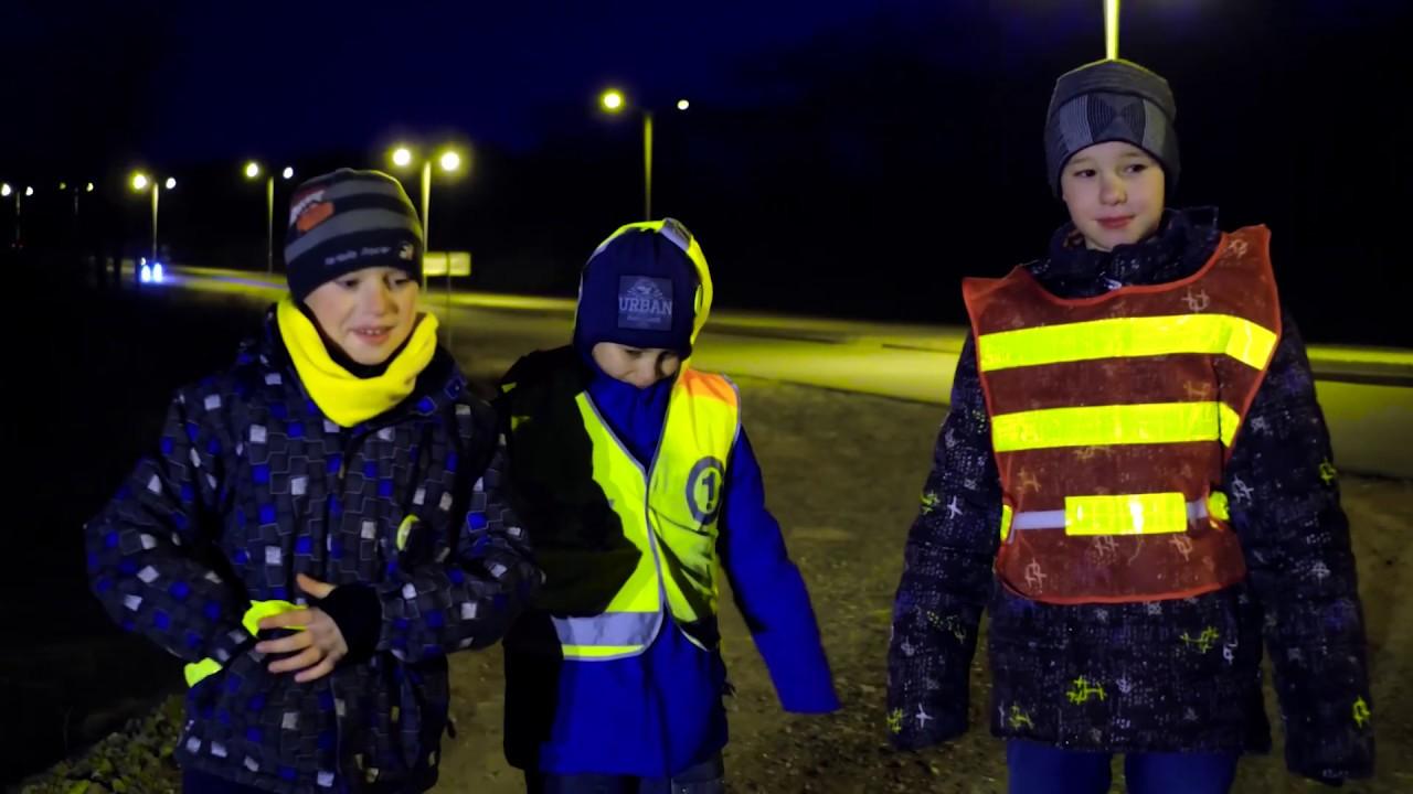 ГИБДД призывает жителей Волгодонского района использовать световозвращающие элементы на одежде
