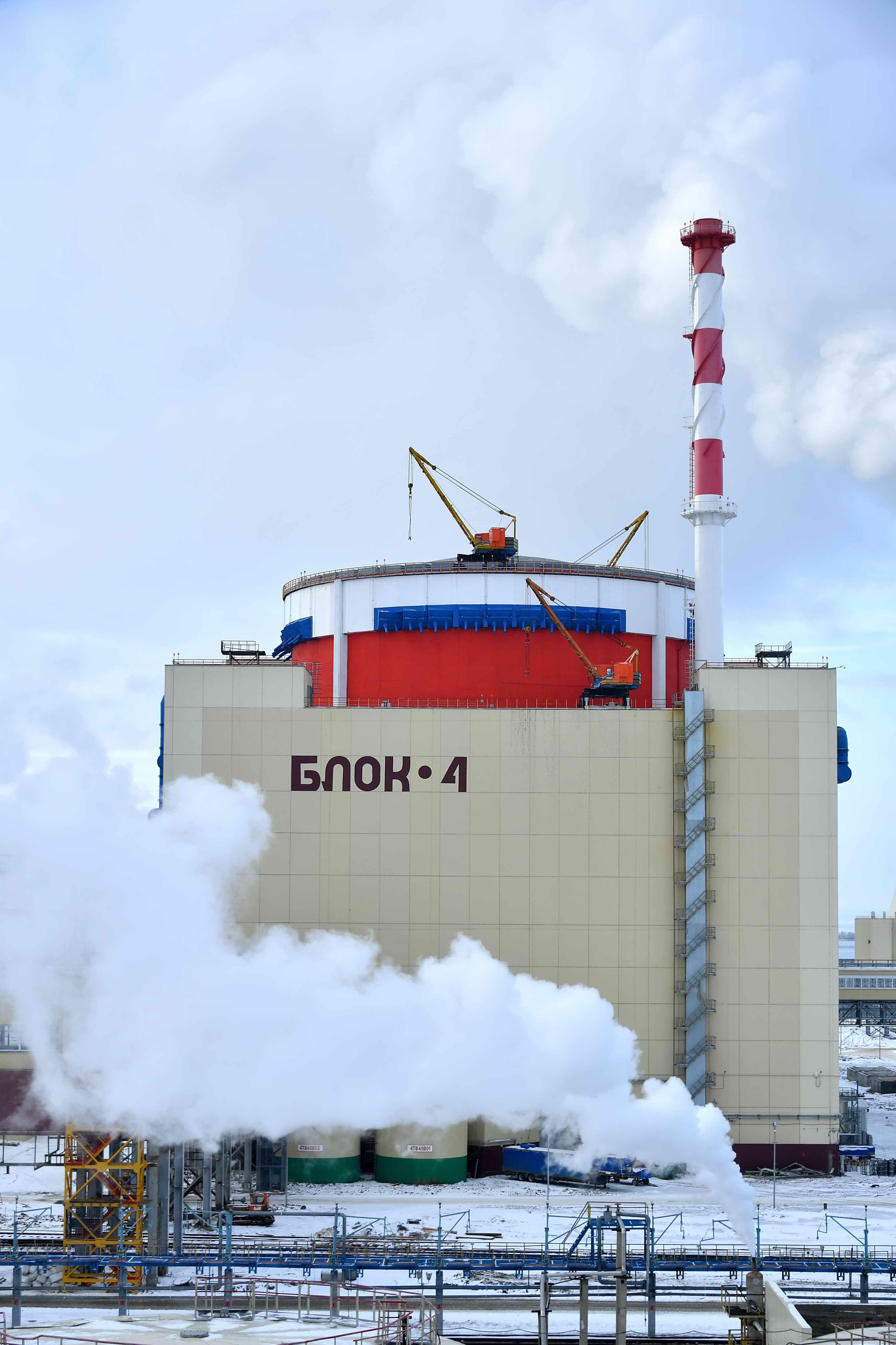 Плановый ремонт на энергоблоке №4 Ростовской АЭС завершен с опережением графика