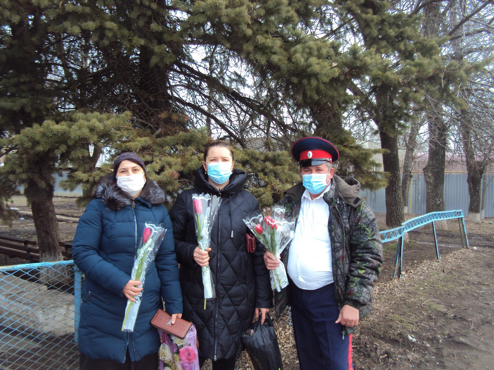 Побединский СДК и Донской СК присоединился ко Всероссийской акции «Вам, любимые»