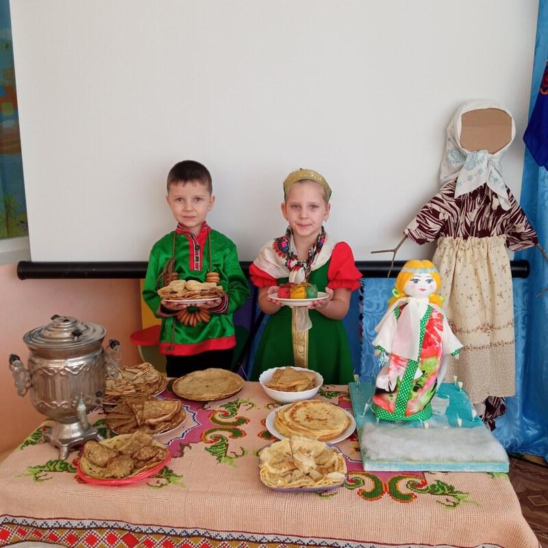 Весёлая Масленица в детском саду «Вишенка»