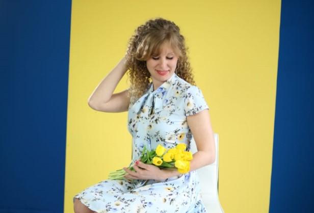 Софья Полунина — новая участница конкурса «Дарите женщинам цветы!»