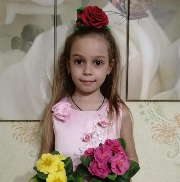 Знакомьтесь Мартынова Анастасия — участница конкурса «Дарите женщинам цветы!»