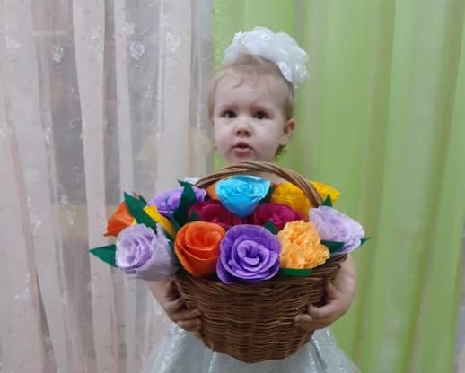 Валерия Епишкина присоединяется к участию в конкурсе «Дарите женщинам цветы!»