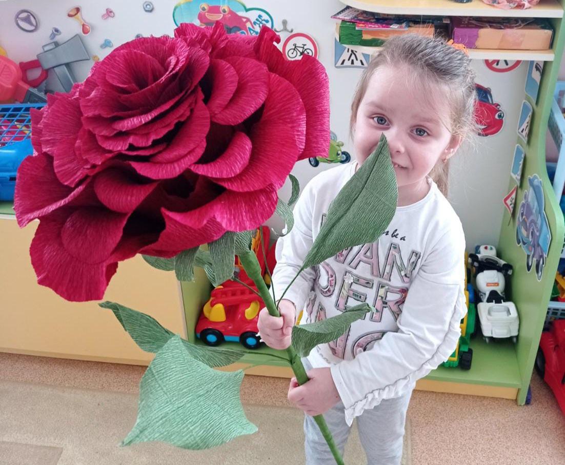 Приветствуем Милану Плоцкую — участницу конкурса «Дарите женщинам цветы!»