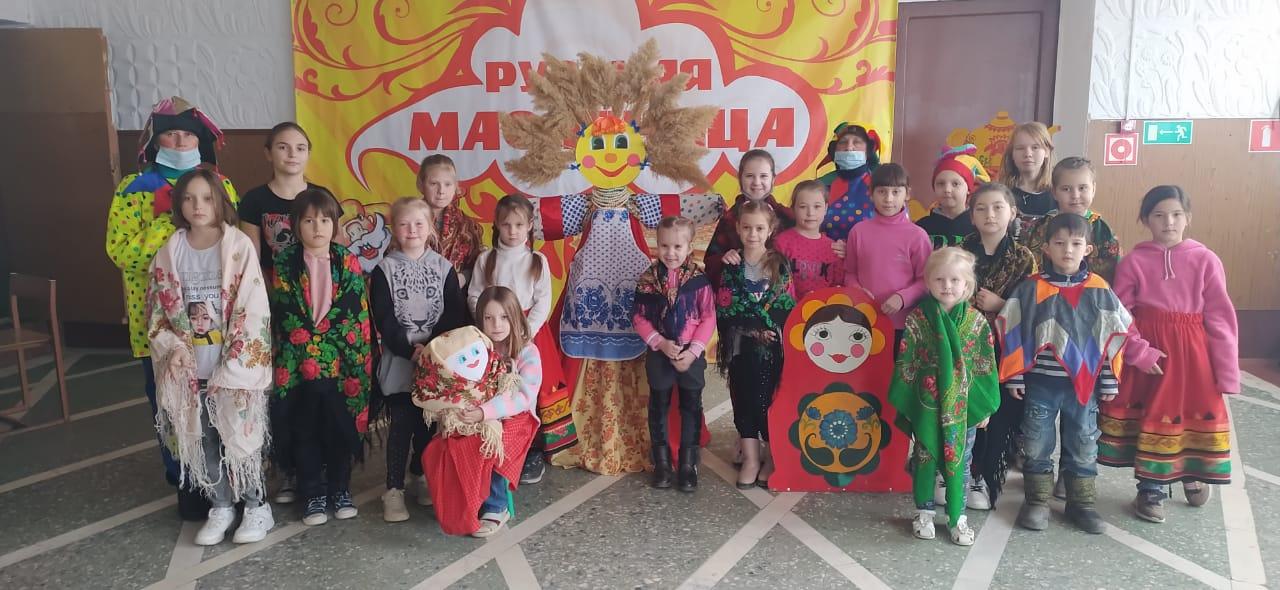 Весёлый праздник Масленицы в Рябичевском клубе