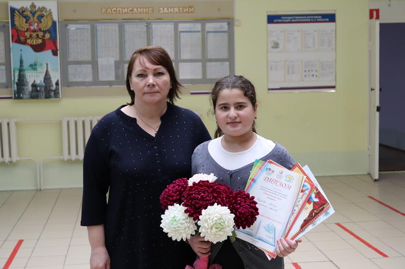 Алина Расулова из Романовской стала призером на конференции «Академия юных исследователей»