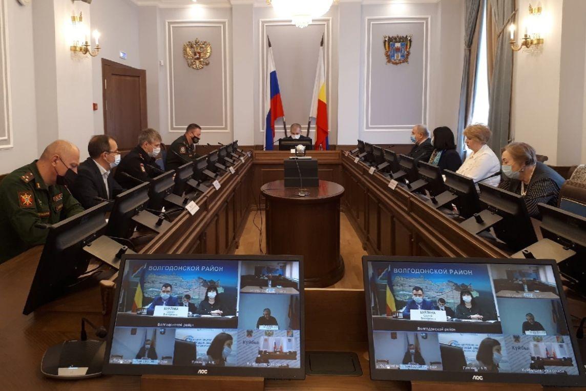 В Ростовской области началась подготовка к весеннему призыву