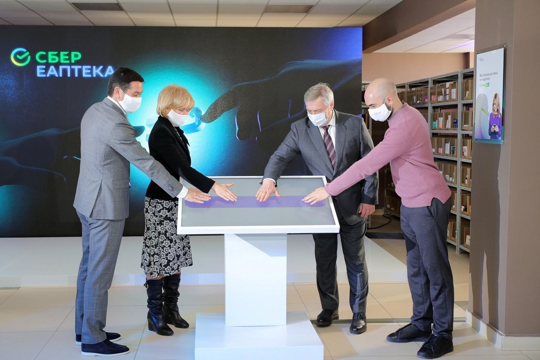 Первый аптечный хаб Сбера открылся в донской столице